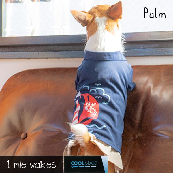 Palm(パーム)Yacht Printed Polo
