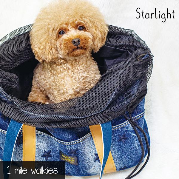 Starlight(スターライト)Star Embroidery Denim Bag