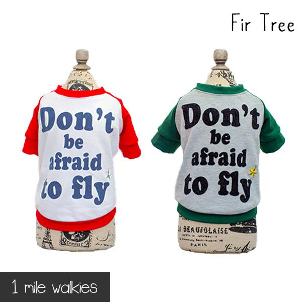 Fir Tree(ファートゥリー)Back Print T-shirt
