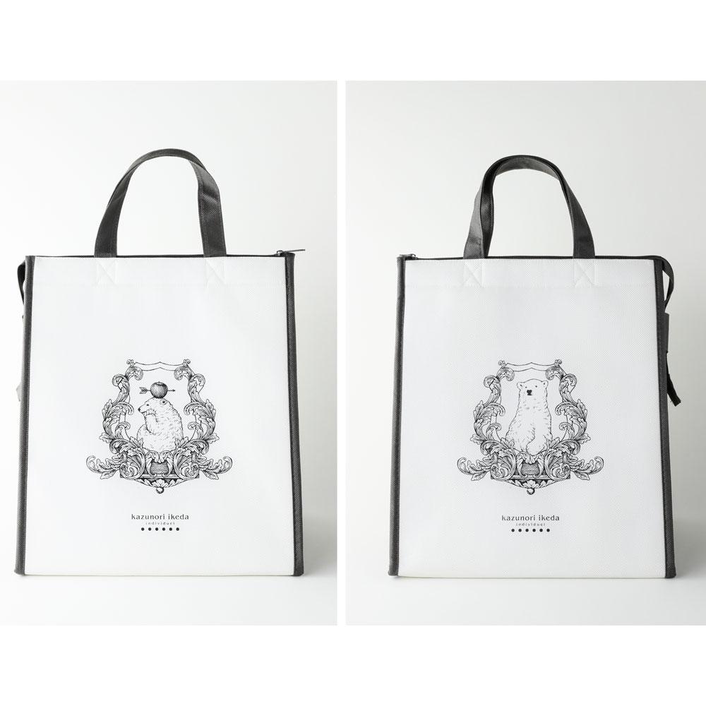 【保冷バッグ02】 カズノリイケダの保冷バッグ(L)