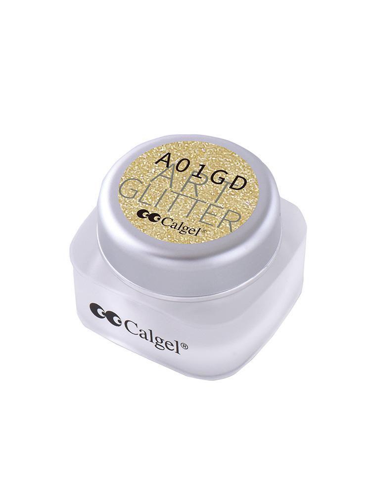 カラーカルジェルプラス アート グリッター ゴールド1.5g CGA01GD