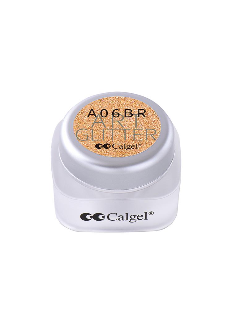 カラーカルジェルプラス アート グリッター コッパー1.5g CGA06BR