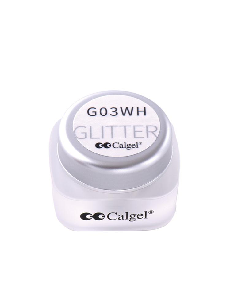 カラーカルジェル プラス グリッターホワイト2.5g CGG03WH