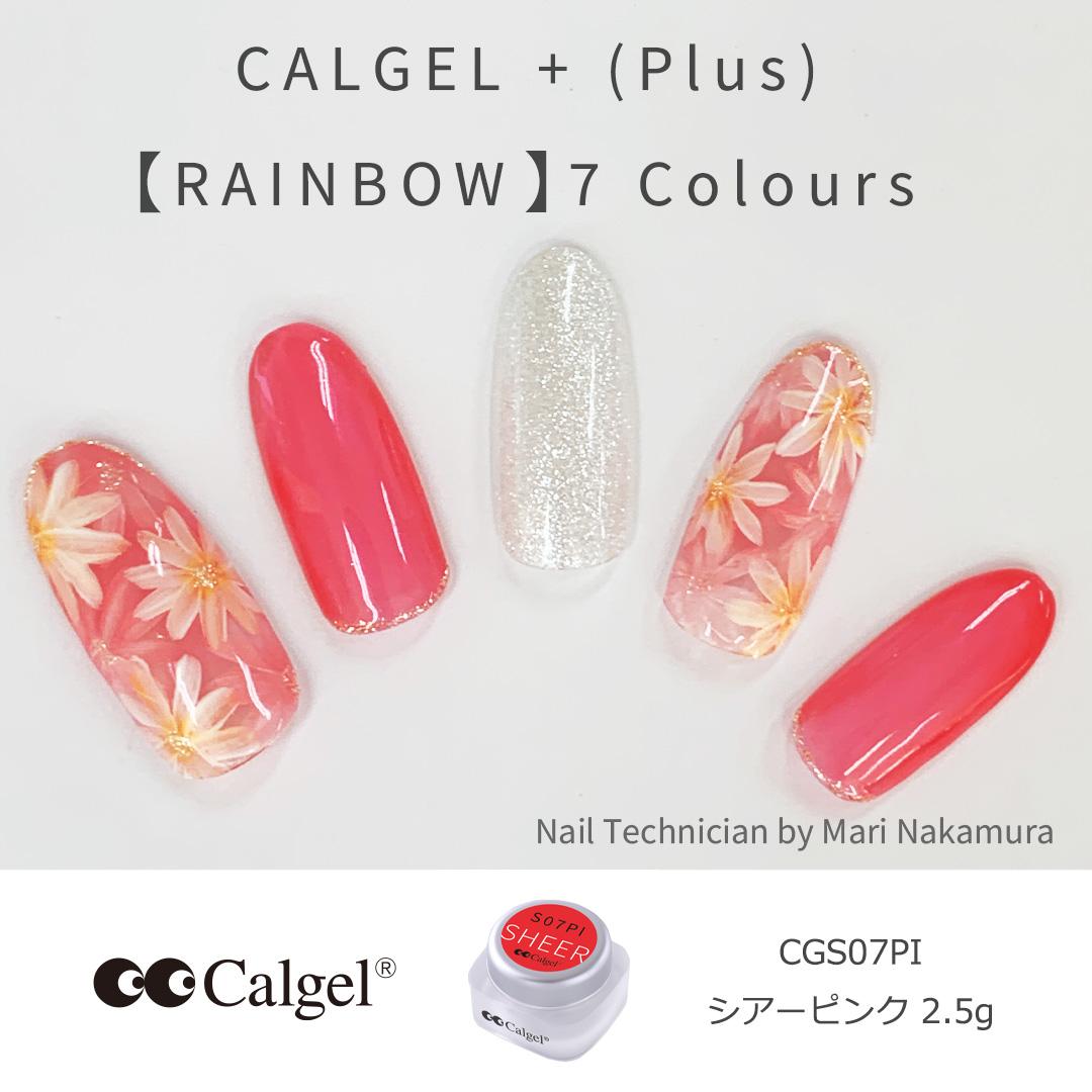 カラーカルジェルプラス シアーピンク2.5g CGS07PI
