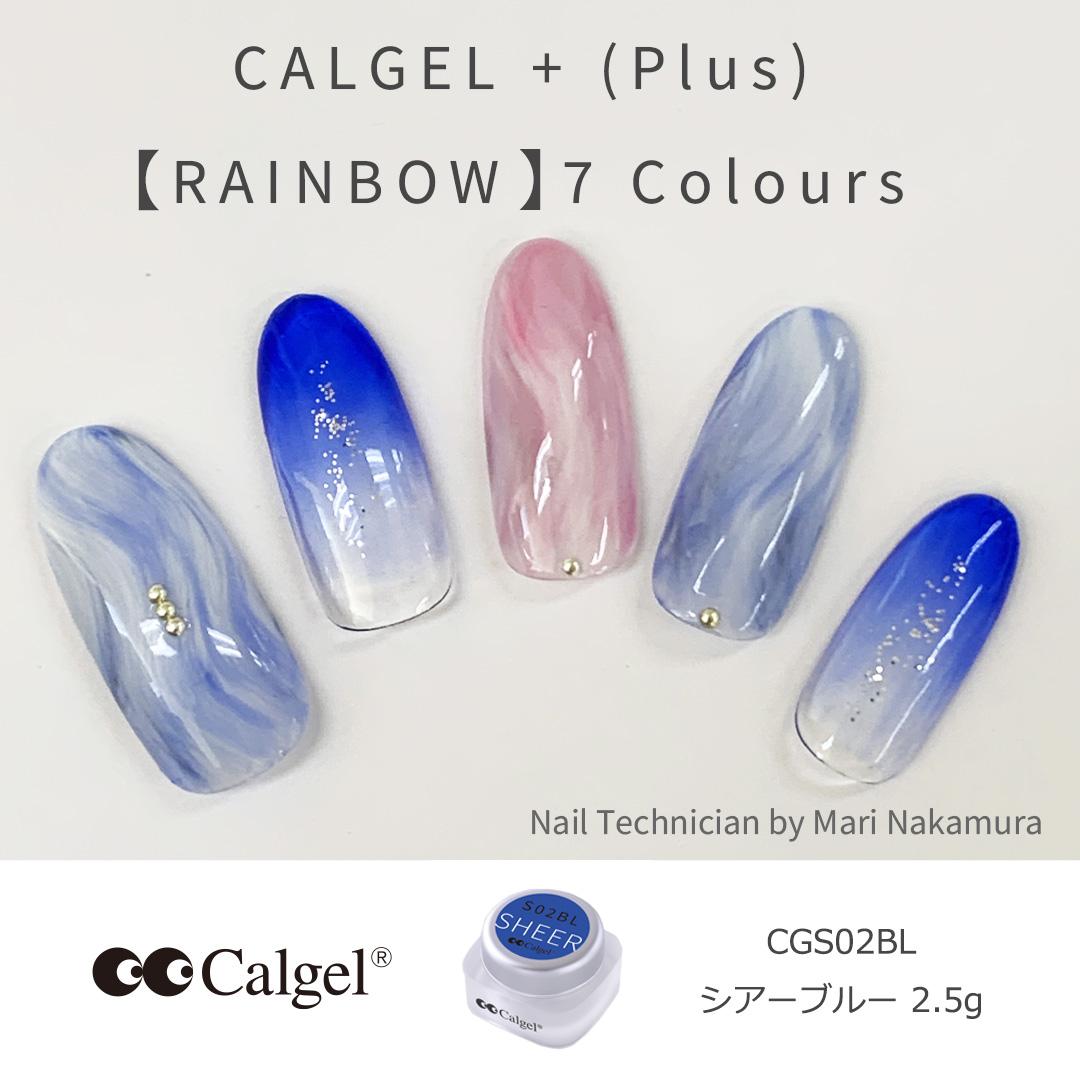 カラーカルジェルプラス シアーブルー2.5g CGS02BL