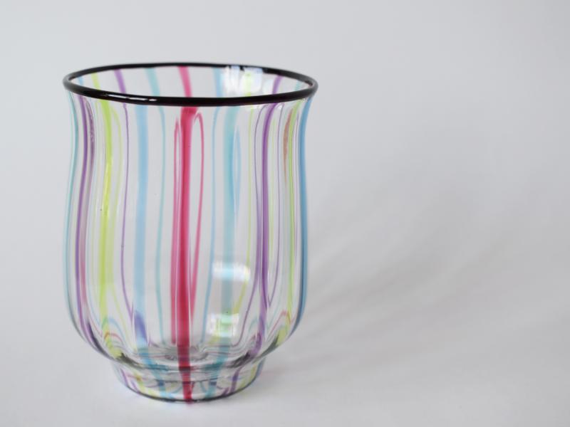 ストライプグラス