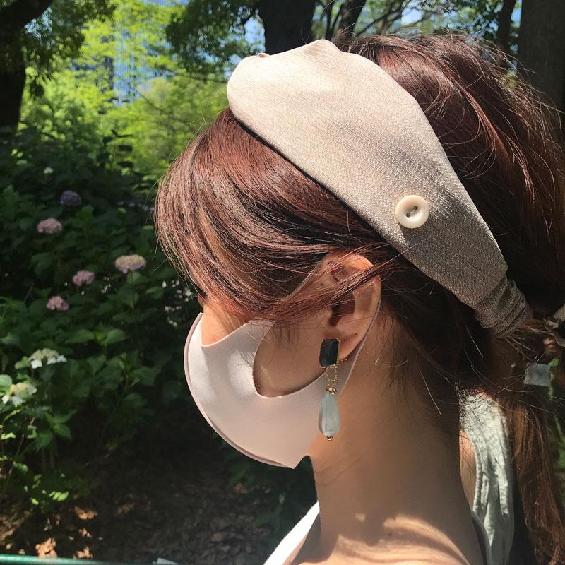 【&mask】大人サイズ キシリトール 4枚ストレッチ マスク クラシック