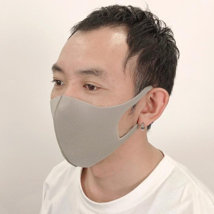 【&mask】ウレタン 4枚 モード 大きめ大人サイズ