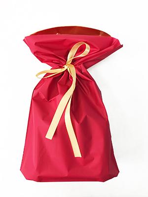 ギフト包装袋_レッド_М