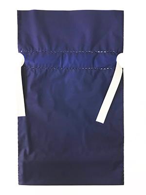 ギフト包装袋_ブルー_S