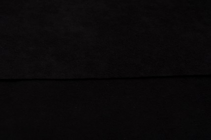 フレッシュシルキーC/#R89黒 117CM幅×1メートル