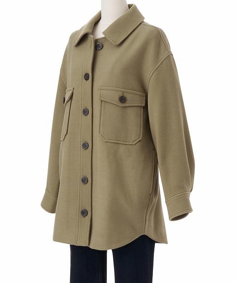 【SOLD OUT】COCODEAL ココディール/オーバーシャツジャケット 70614242 【土日祝も16時まで即日発送(火曜以外)】