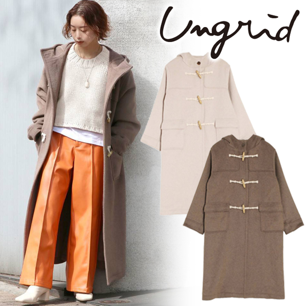 【SOLD OUT】\SALE30%OFF/Ungrid アングリッド/ロングダッフルコート 112060074301