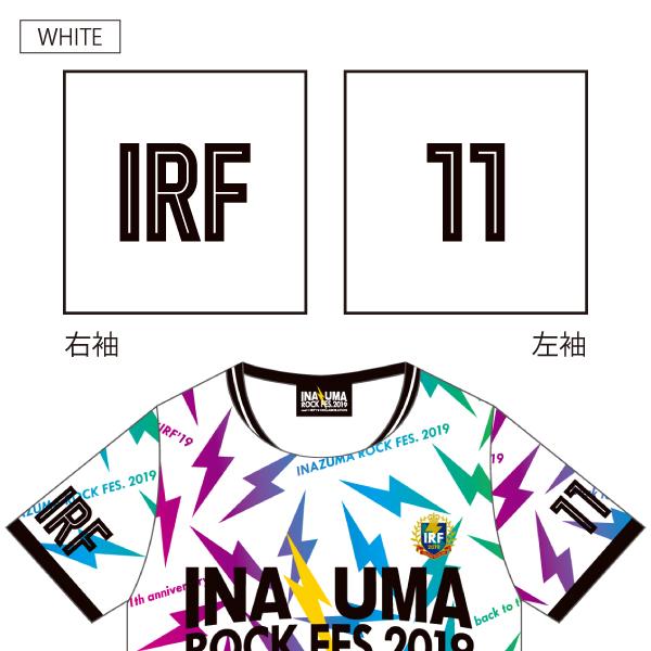 イナズマロック フェス 2019×realコラボTシャツ≪2枚以上お買い上げで全国送料無料≫ 【土日祝も16時まで即日発送(火曜以外)】