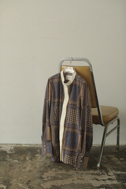 【SOLD OUT】TODAYFUL トゥデイフル/Standcollar Paisley Shirts 12020410