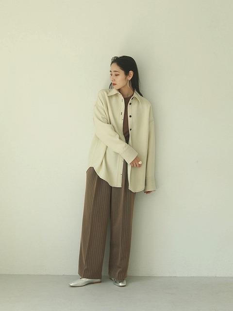 TODAYFUL トゥデイフル/Stitch Wool Shirts 12020413【土日祝も16時まで即日発送(火曜以外)】