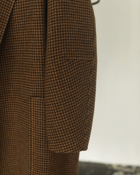 予約商品/TODAYFUL トゥデイフル Over Check Coat 12020014 10月末〜11月末入荷予定