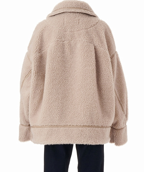 【SOLD OUT】COCODEAL ココディール/エコムートンブルゾン 70619341