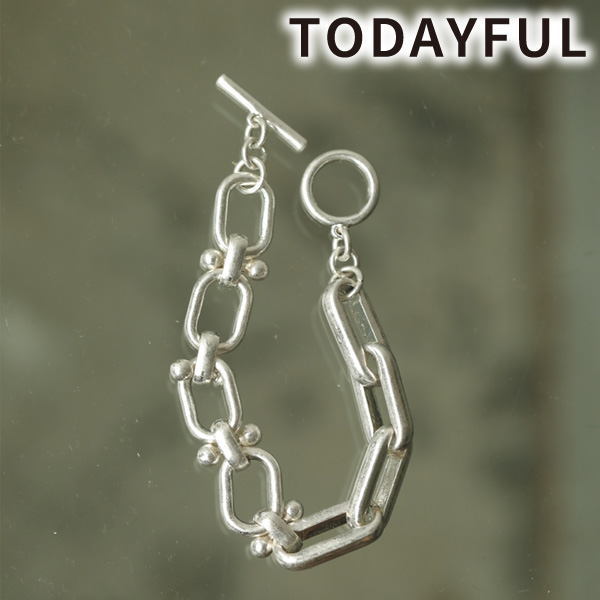 【SOLD OUT】ネコポス送料無料/TODAYFUL トゥデイフル/Mix Chain Bracelet 12020924 【土日祝も16時まで即日発送(火曜以外)】