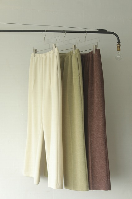 【SOLD OUT】\SALE20%OFF/TODAYFUL トゥデイフル/Centerpress Ponte Pants 12020713