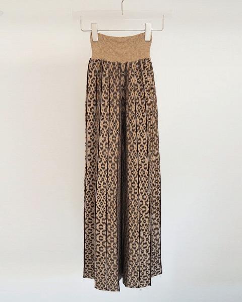 予約商品/TODAYFUL トゥデイフル/Pattern Knit Leggings 12020723 12月末〜1月末入荷予定