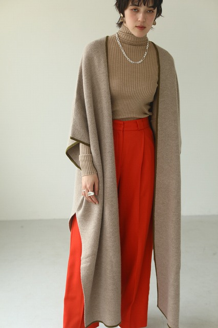 TODAYFUL トゥデイフル Doubleface Knit Gown 12020509 【土日祝も16時まで即日発送(火曜以外)】