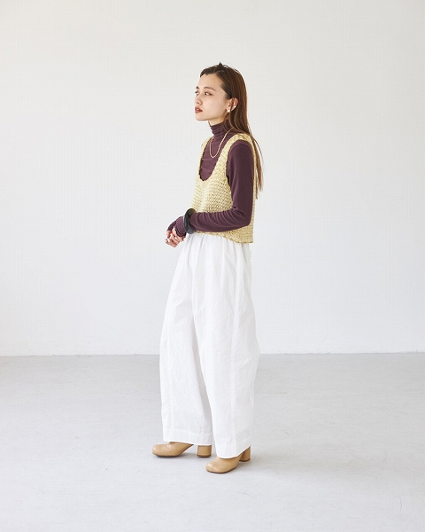 【SOLD OUT】TODAYFUL トゥデイフル /Washed Wide Pants 12120713