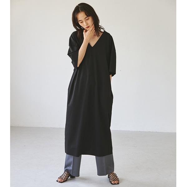 TODAYFUL トゥデイフル/Highgauge Halfsleeve Dress 12120301 【土日祝も16時まで即日発送(火曜以外)】