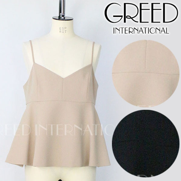 \SALE60%OFF/GREED グリード/ Double Stretch Cloth Camisole ダブルストレッチクロスキャミソール 6055100002【土日祝も16時まで即日発送(火曜以外)】