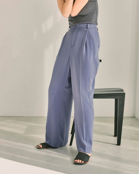 【SALE30%OFF】TODAYFUL トゥデイフル/Georgette Rough Trousers 12110726 【土日祝も16時まで即日発送(火曜以外)】
