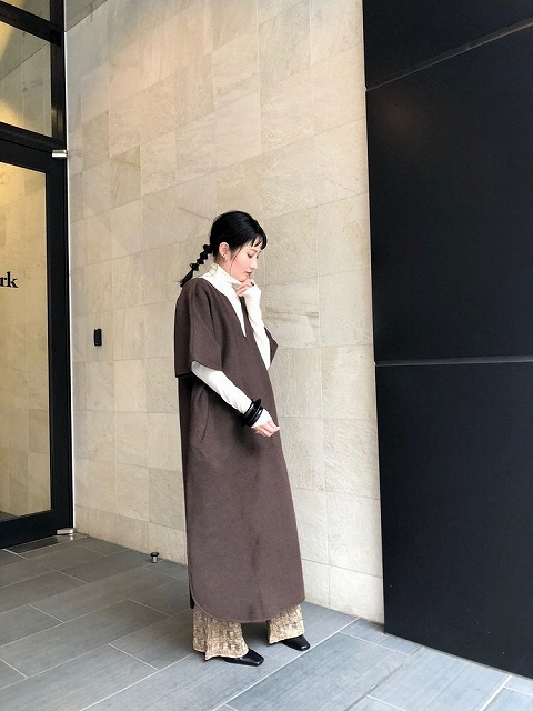 【SOLD OUT】TODAYFUL トゥデイフル/Caftan Wool Dress 12020309