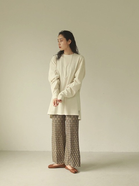 【SOLD OUT】TODAYFUL トゥデイフル/Pattern Knit Leggings 12020723 【土日祝も16時まで即日発送(火曜以外)】