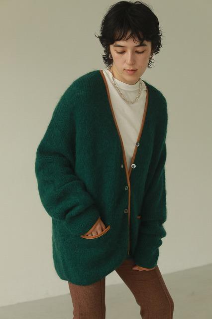 予約商品/TODAYFUL トゥデイフル Piping Knit Cardigan 12020526 11月末〜12月末入荷予定