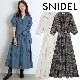 【SOLD OUT】\期間限定10%OFF/SNIDEL スナイデル/Sustainaコットンシャツワンピース SWFO204049