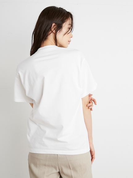 【SOLD OUT】\期間限定5%OFF/ネコポス送料無料/SNIDEL スナイデル/SustainaロゴTシャツ SWCT212064