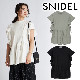 【SOLD OUT】【SALE30%OFF】SNIDEL スナイデル/Sustainaフリルスリーブペプラムプルオーバー SWCT212056