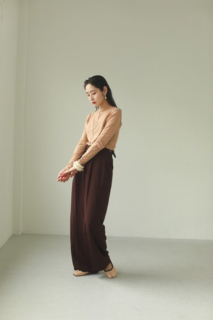 【SOLD OUT】\SALE20%OFF/TODAYFUL トゥデイフル Mellow Stitch Long T-Shirts 12020614 ネコポス送料無料