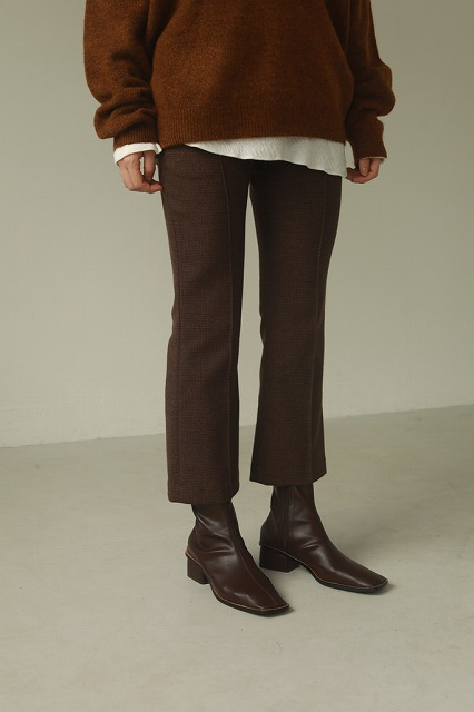 【SOLD OUT】TODAYFUL トゥデイフル/Stretch Leather Boots 12021029
