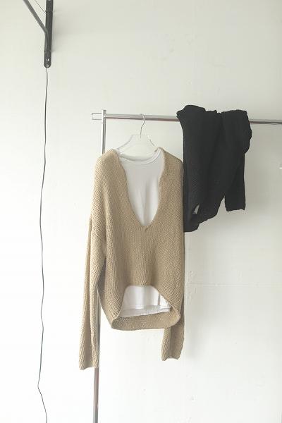 TODAYFUL トゥデイフル /Uneck Hand Knit 12110506 【土日祝も16時まで即日発送(火曜以外)】