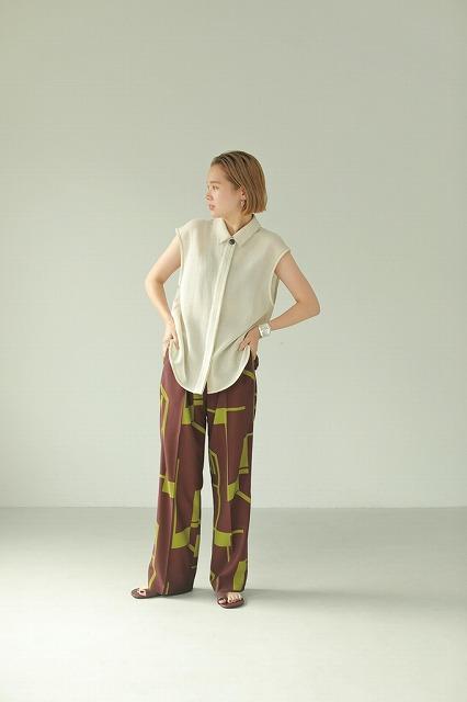 TODAYFUL トゥデイフル/Geometric Tuck Trousers 12110727【土日祝も16時まで即日発送(火曜以外)】
