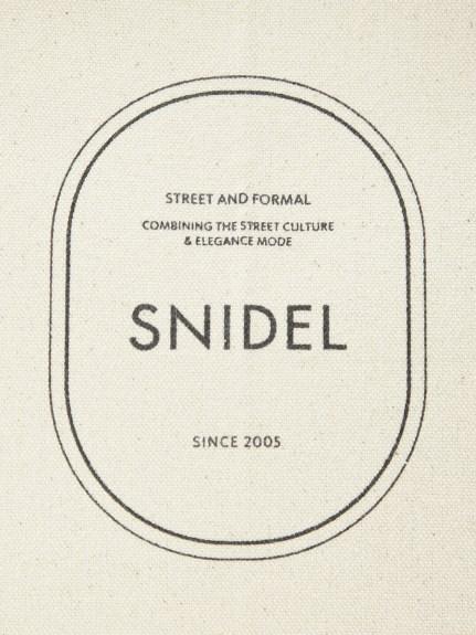 追加生産決定!\期間限定10%OFF/予約商品/SNIDEL スナイデル/キャンパスエコバッグ SWGB211612 5月中〜6月中入荷予定