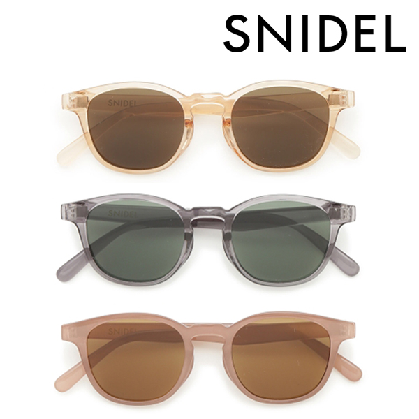 【SOLD OUT】【SALE30%OFF】SNIDEL スナイデル/カラーサングラス SWGG211653/ネコポス送料無料