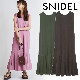 【SOLD OUT】【期間限定5%OFF】SNIDEL スナイデル/カットノースリワンピース SWCO214012