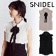 【SOLD OUT】【期間限定5%OFF】SNIDEL スナイデル/ボウタイフリルブラウス SWFB214026