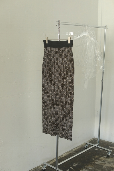 TODAYFUL トゥデイフル/Jacquard Pencil Skirt 12110803 【土日祝も16時まで即日発送(火曜以外)】