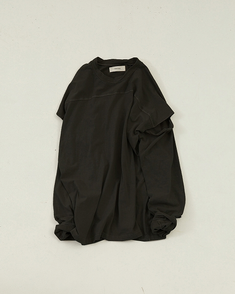 【SOLD OUT】\期間限定ポイント5倍/再入荷/TODAYFUL トゥデイフル/Sleeve Slit Long T-Shirts 12010614【土日祝も16時まで即日発送(火曜以外)】