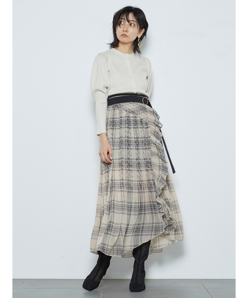 【SOLD OUT】\期間限定10%OFF/SNIDEL スナイデル /プリーツスカショーパン SWFP211142