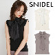 【SOLD OUT】\期間限定5%OFF/SNIDEL スナイデル/ボウタイニットプルオーバー SWNT214113