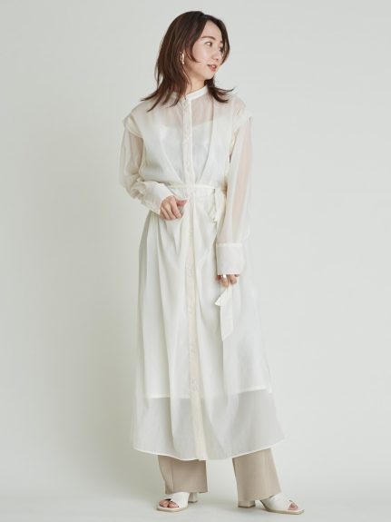 【SOLD OUT】【SALE40%OFF】FRAY I.D フレイアイディー /ポンチスリットパンツ FWCP211064