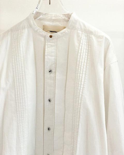 再入荷!TODAYFUL トゥデイフル/Tuck Dress Shirts 12020403 【土日祝も16時まで即日発送(火曜以外)】